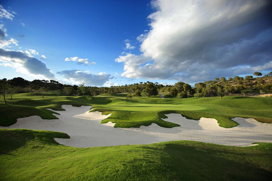 nieruchomości przy polu golfowym